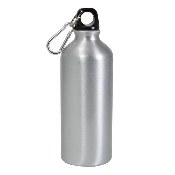 Фляжка-бутылка спортивная 600 мл cеребро