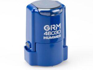 Печать grm-46030-hummer-blue-gloss