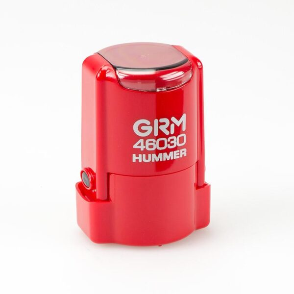 Печать grm-46030-hummer-red-gloss