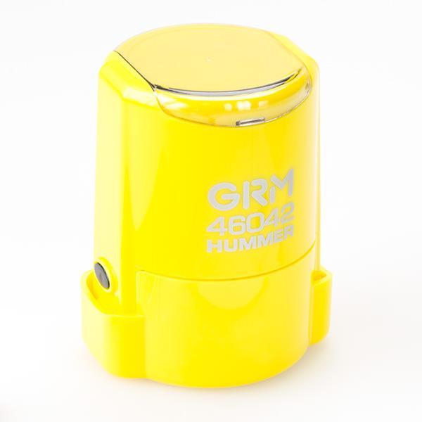 Печать grm-46042-hummer-yelow-gloss