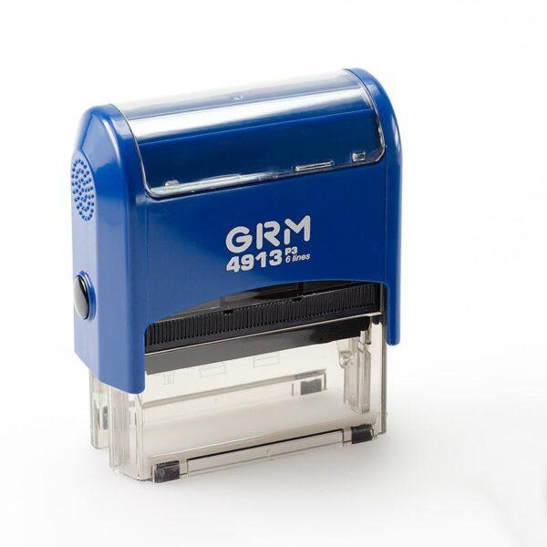 Штамп grm-4913-p3-gloss-blue