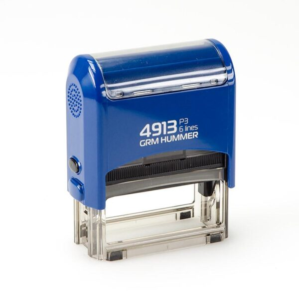 Штамп grm-4913-p3-hummer-gloss-blue