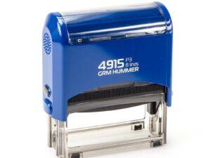 Штамп grm-4915-p3-hummer-синяя