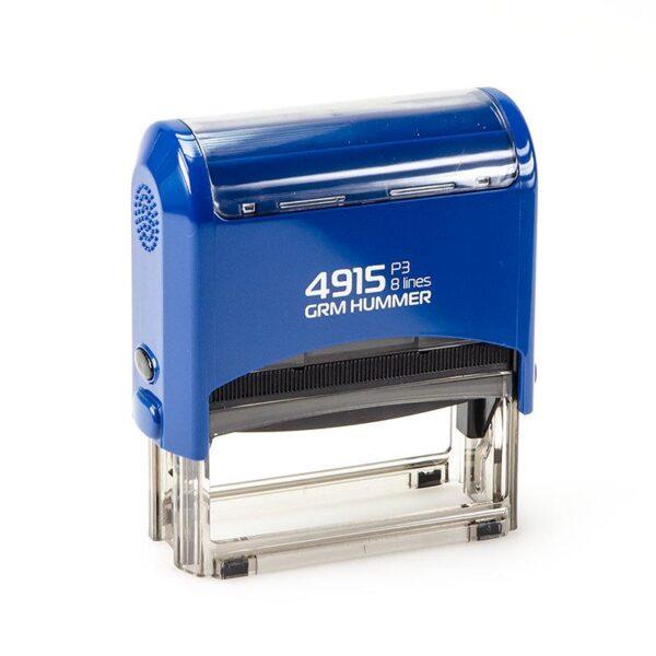 Штамп grm-4915-p3-hummer-gloss-blue
