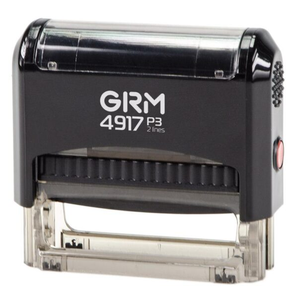 Штамп grm-4917-p3-gloss-black
