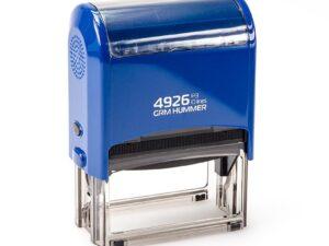 Штамп grm-4926-p3-hummer-gloss-blue