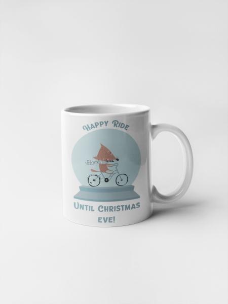 Кружка с печатью Рождество