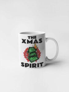Кружка с печатью Дух рождества