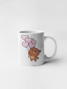 Кружка Медвежонок с шариками