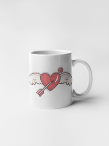 Кружка Крылатое сердце